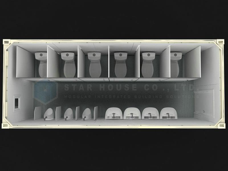 Unidad de baño masculino